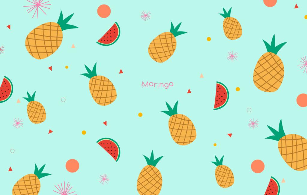 moringa-fond-ecran-summer-ananas